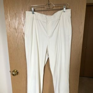 Coldwater Creek off white pants.  Size 16.